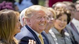 """Trump bezeichnet Berichte als """"Fake News"""""""