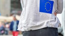 Beim Bier gegen Europaverdrossenheit