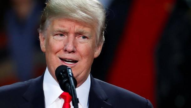 Trump ruft zur Ruhe im Nahen Osten auf