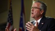 Jeb Bush verplappert sich