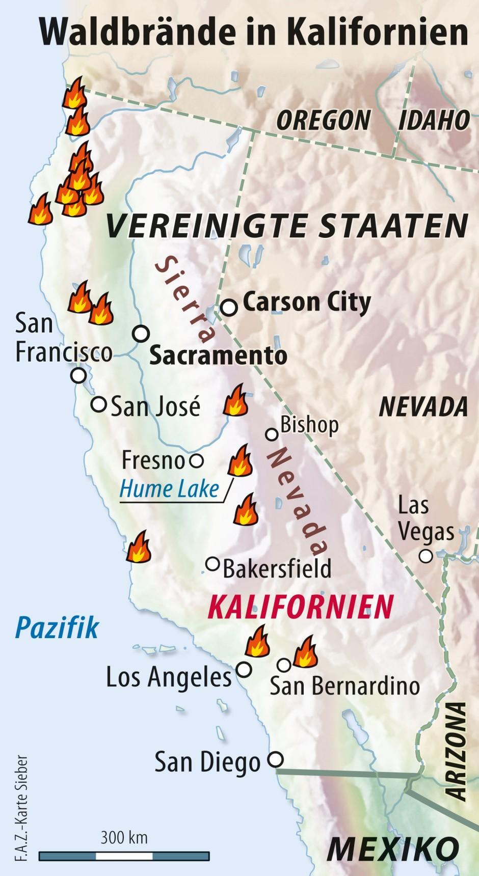 waldbrände italien karte Bilderstrecke zu: Schwere Waldbrände wüten in Amerika   Bild 2 von