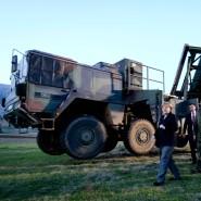 Angela Merkel beim Besuch der Patriot-Einheiten in der Türkei 2013