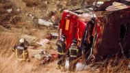Zahlreiche Tote bei Busunglück in Spanien
