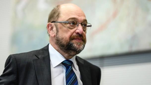 Führender SPD-Politiker fordert: Kein Ministeramt für Martin Schulz