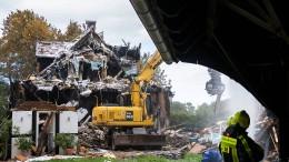 Fünf Verletzte nach Explosion in Münster