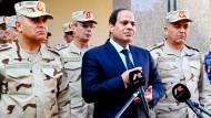 Ägyptischer Luftangriff auf IS-Stellungen in Libyen