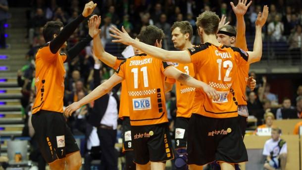 Premiere für die Berlin Volleys