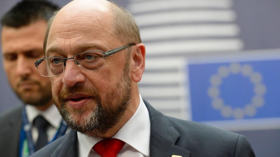 Parlamentspräsident der Europäischen Union: Martin Schulz