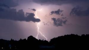 In dieser Stadt gab es 2020 die meisten Blitze
