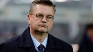 Schiedsrichter übergehen DFB-Präsidenten Grindel
