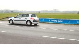"Straße ""singt"" ab 60 km/h"