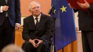 Schäuble wird Ehrenbürger Berlins
