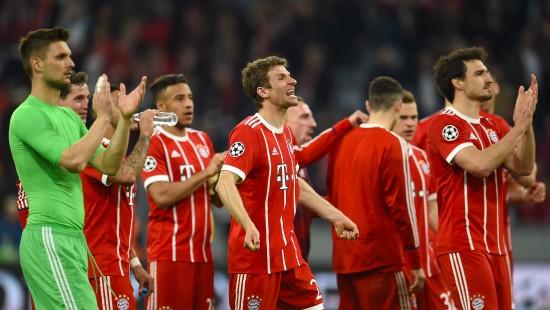 Bayern steht im Halbfinale der Champions League