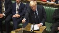 Ein zweiter Cromwell? Einige Briten erinnern sich bei der geplanten Parlamentspause an frühere Machtkämpfe um die Konstituierung des Parlaments.