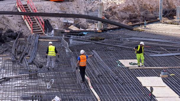 Umsatzplus und mehr Beschäftigte  in der Baubranche