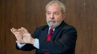 """""""Voll Tatkraft – wie ein Jugendlicher von 50 Jahren"""": Luiz Inácio Lula da Silva im F.A.Z.-Gespräch"""