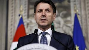 Conte erhält Auftrag zur Regierungsbildung