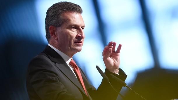 Oettinger, die Chinesen und die Pflicht-Homoehe