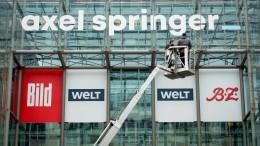Facebook und Axel Springer vereinbaren Kooperation