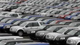Stärkster Einbruch auf britischem Automarkt seit Finanzkrise