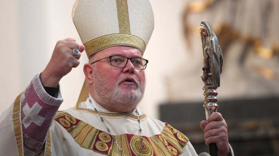 Kardinal Marx – hier beim Eröffnungsgottesdienst der Deutschen Bischofskonferenz im Herbst in Fulda.