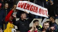 Ungemütliche Zeiten für Wenger