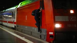 90 Prozent aller Züge standen still