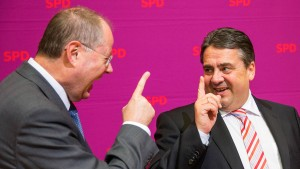 Steinbrück: Gabriel soll Finanzminister werden