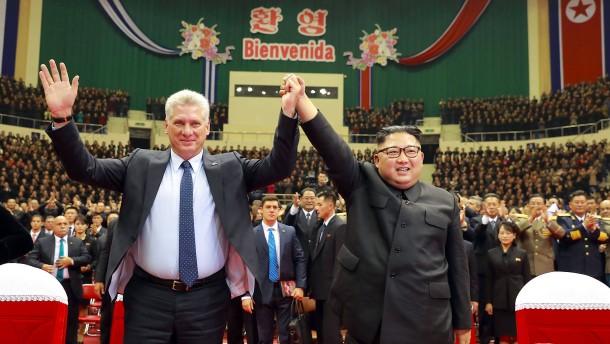 Spitzentreffen von Nordkorea und Kuba