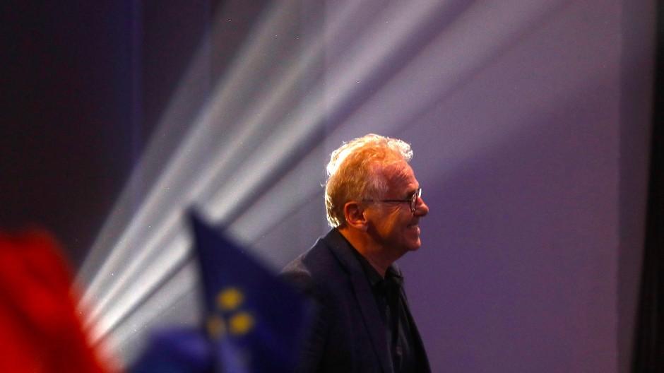 Daniel Cohn-Bendit während einer Europa-Veranstaltung in Paris am 24. Mai dieses Jahres