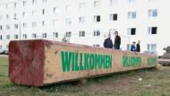 Reicht das? Willkommenskultur in Suhl in Thüringen.