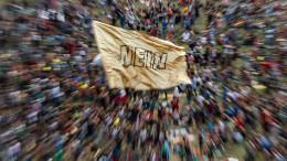 Großdemonstration gegen Rechtsruck in Deutschland
