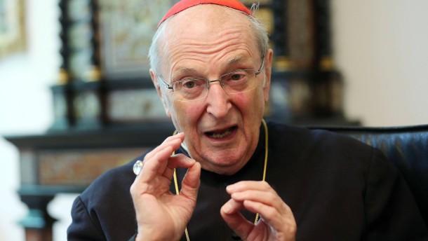 Kardinal Meisner will zurücktreten