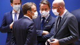 EU-Gipfel zu Corona-Hilfen wird fortgesetzt
