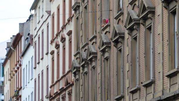 Mietshäuser in Frankfurt