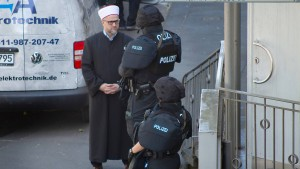 Polizei erhöht Präsenz vor Moscheen in Hessen
