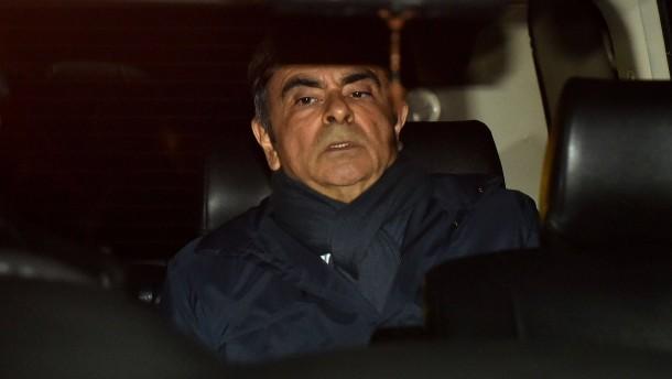Nächste Anklage gegen Ghosn