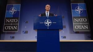Nato will die Türkei militärisch unterstützen