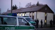 Großeinsatz der Polizei in Flüchtlingsunterkunft