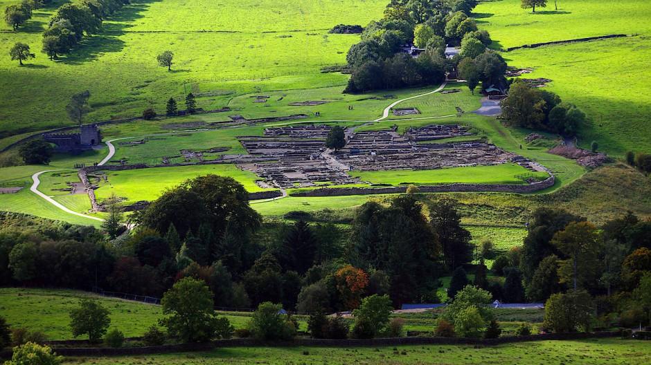 Als die Römer das Lager Vindolanda verließen, ließen sie ihren Müll da: Für unsere Zeit ist das ein Segen!