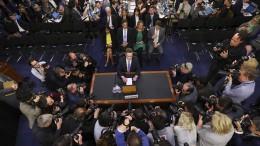 Der Spickzettel des Herrn Zuckerberg