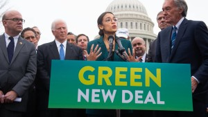 Amerikas Linke kapert den Klimaschutz