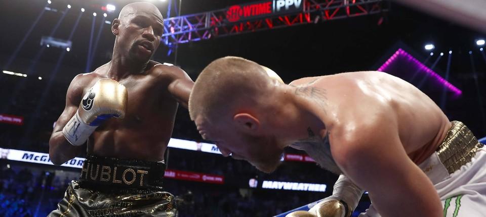 Boxen Floyd Mayweather Besiegt Conor Mcgregor In Las Vegas