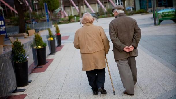 Grundsicherung eine halbe million rentner m ssen for Rente grundsicherung hohe