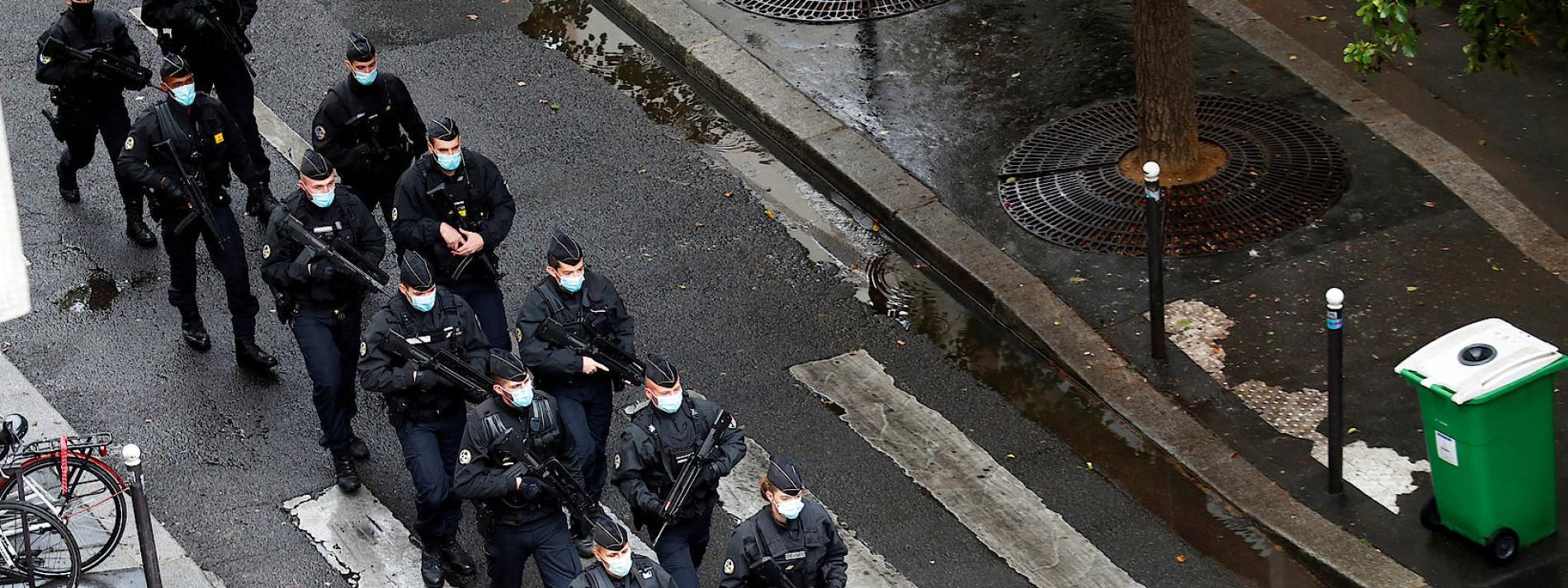 Wo war die Polizei in der Rue Nicolas Appert?