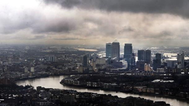 Londoner Finanzmarkt zittert