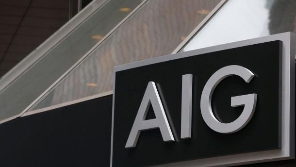 Versicherer AIG macht wieder Milliardengewinn