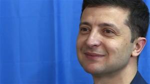 Komiker Selenskyj wird Präsident