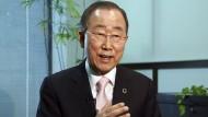 Ban Ki-moon war von 2007 bis 2016 Generalsekretär der Vereinten Nationen.