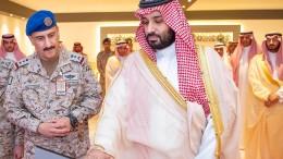 """Saudischer Kronprinz fordert """"entschlossene Haltung"""" gegen Iran"""